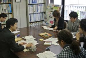 団体内でのSR勉強会(2013年撮影)